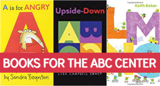 Books for the ABC Center in Preschool