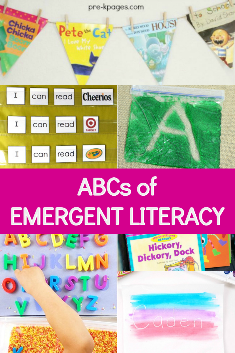 emergent literacy for preschool