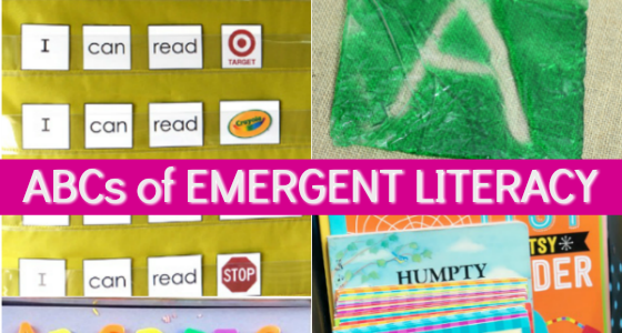emergent literacy for preschoolers