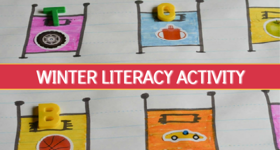 The Snowy Nap: Winter Literacy Activity