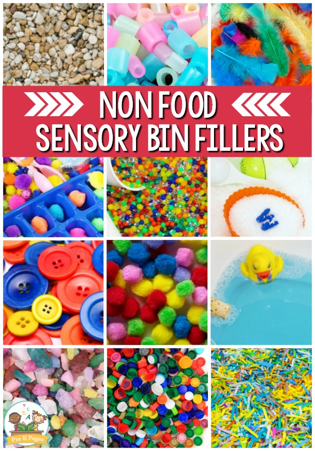 Best Sensory Bin Fillers for preschool