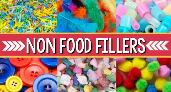 Non Food Sensory Bin Fillers for Sensory Play in Preschool