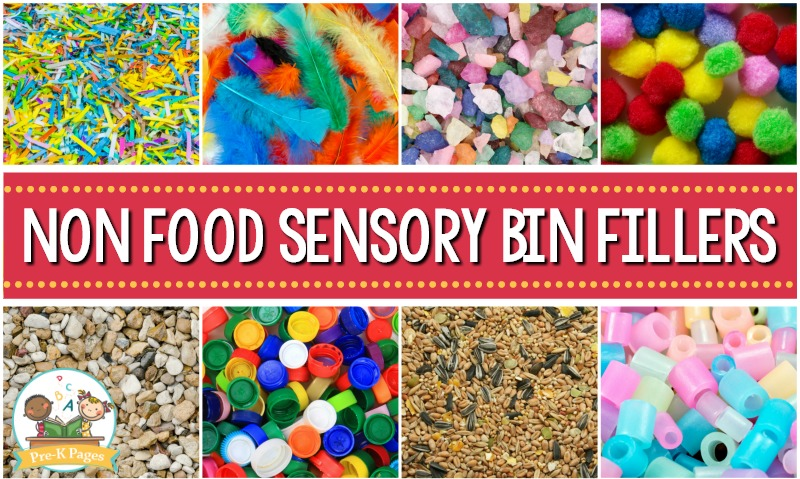 Sensory Bins Without Food
