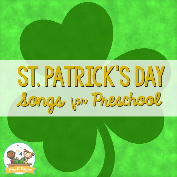 St. Patrick's Day Songs for Preschool