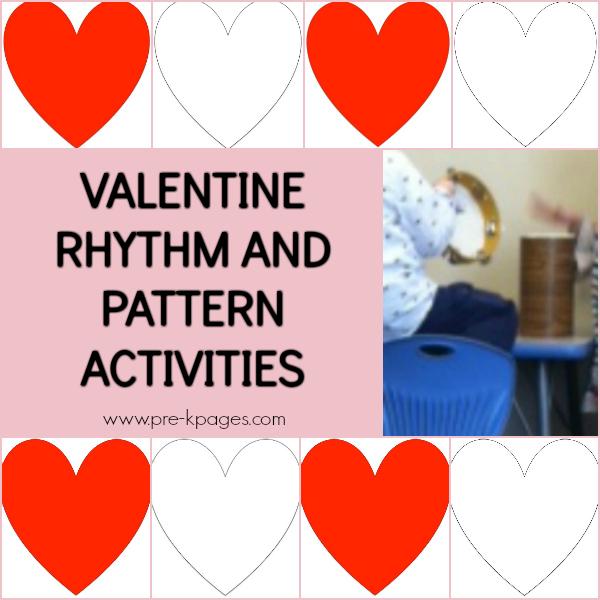 valentine music movement pre-k