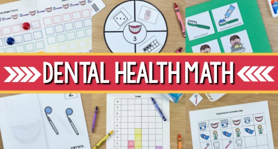 Dental Health Math Activities for Preschool
