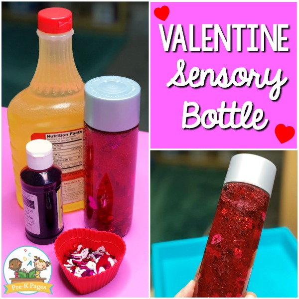 Valentines Day Sensory Bottle