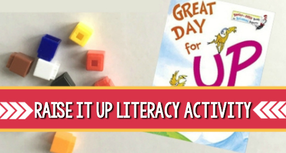 Raise It Up Literacy Activity