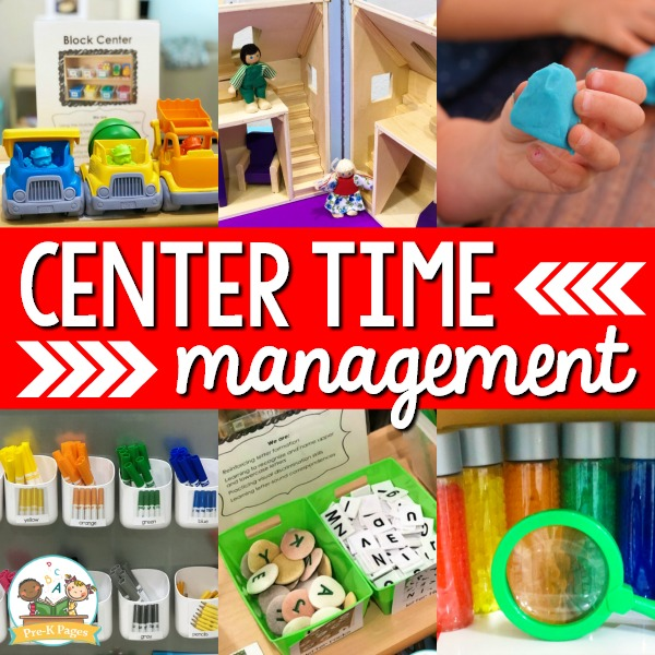 Center Time Management Tips for Preschool and Pre-K