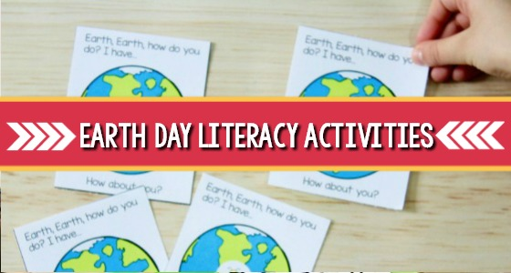 Earth Day Literacy Activities for Preschool