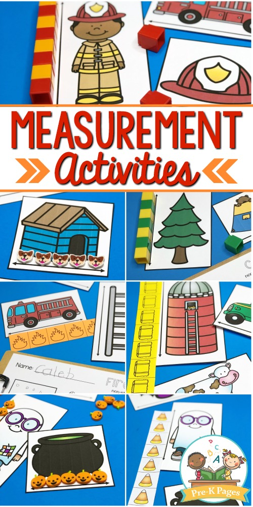 How to Teach Measuring in Preschool