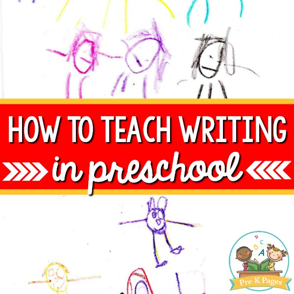 How to Teach Writing in Preschool