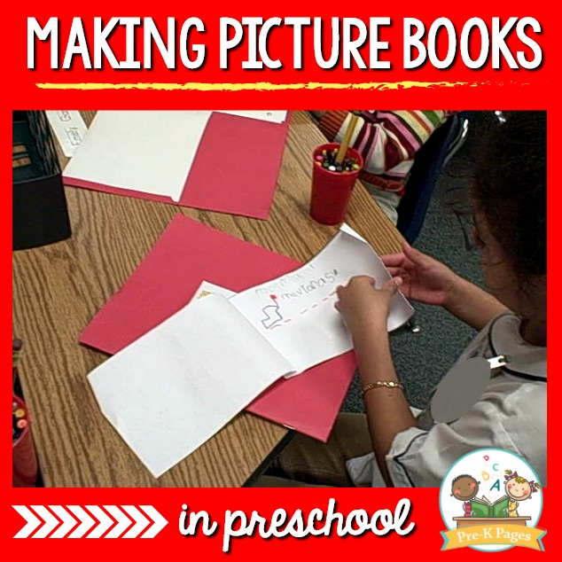 How to make picture books in preschool