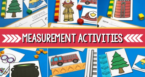 Measurement Activities for Preschool