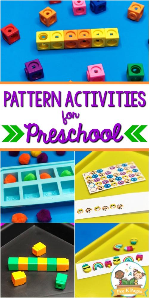 Patterning Activities for Preschoolers