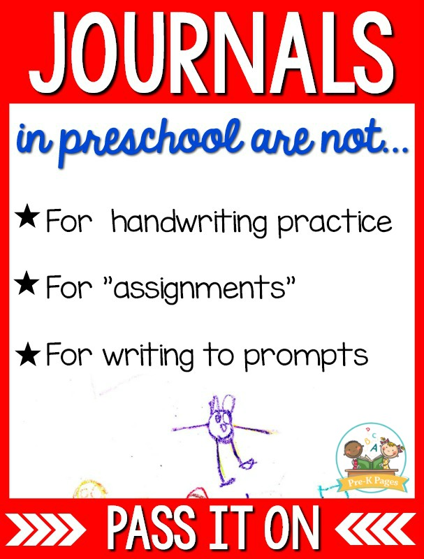 Preschool Journal Ideas