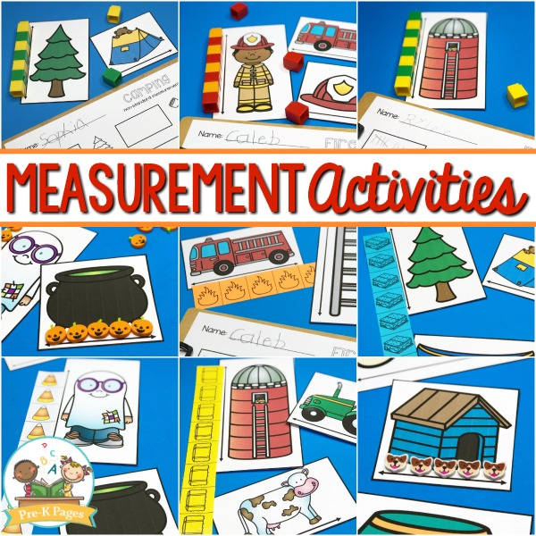 Preschool Measurement Activities