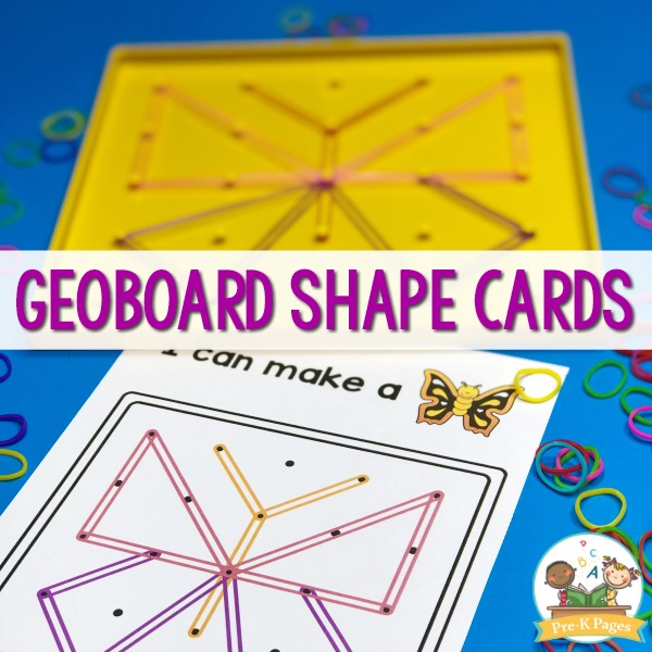 Printable Geoboard Task Cards