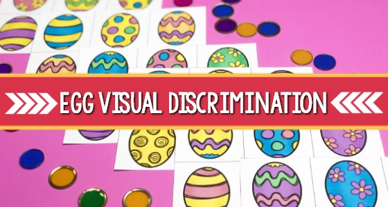 Easter Visual Discrimination Printable