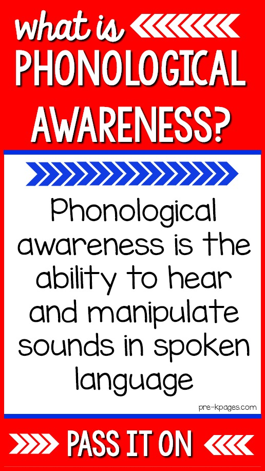 What is phonological awareness