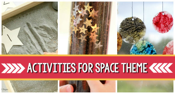 Space Theme Activities for Preschoolers