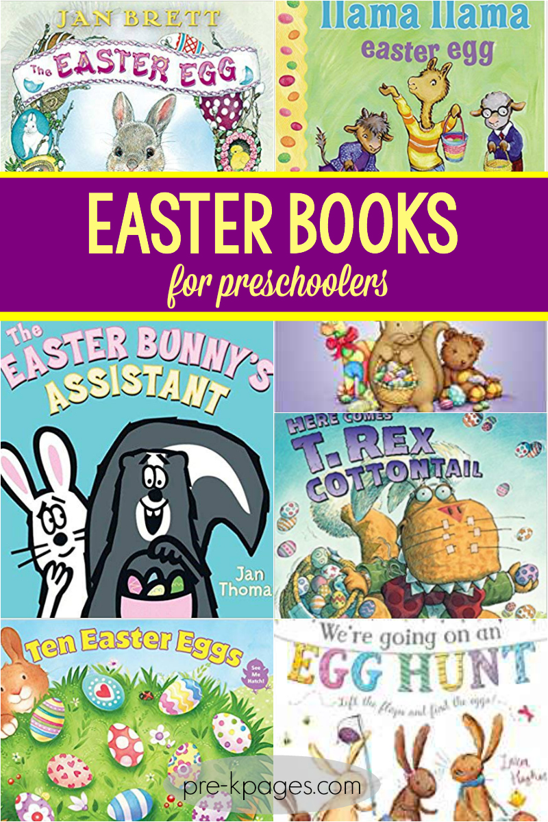 easter books for preschool