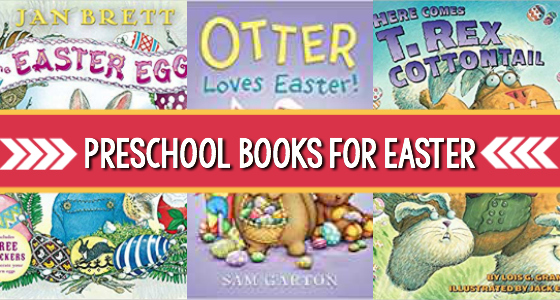 easter books pre-k pages