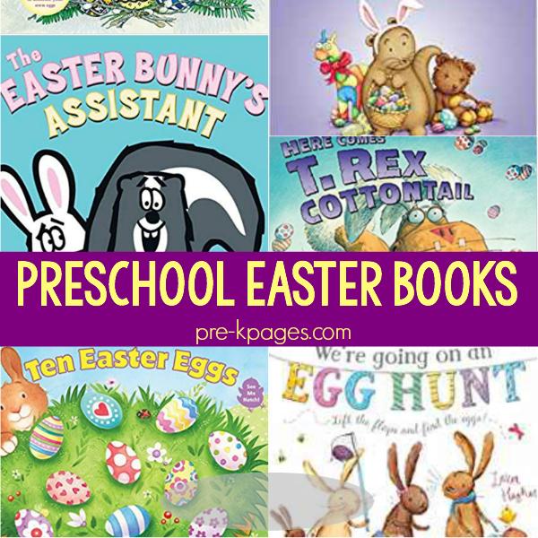 easter books pre-k spring