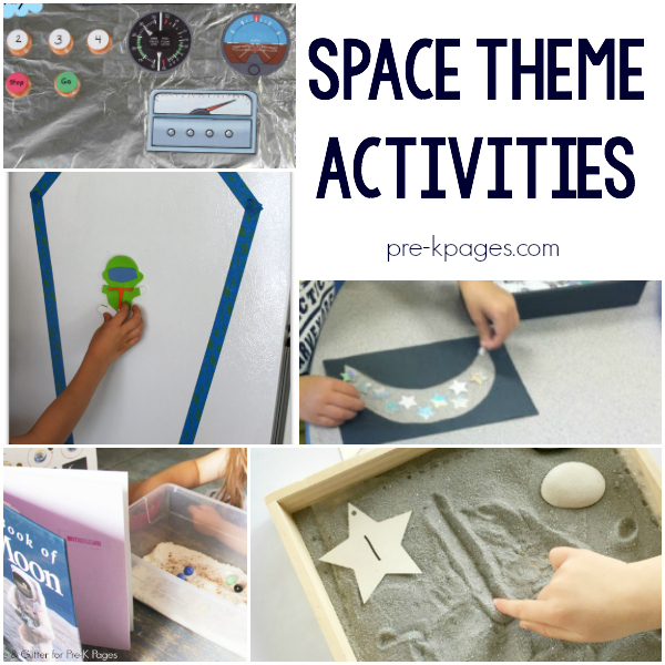 outer space astronaut activities pre-k