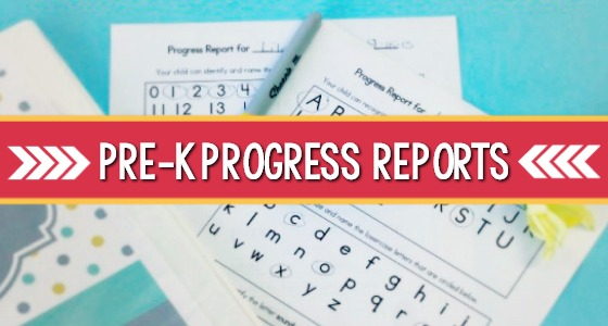 Pre-K Progress Reports