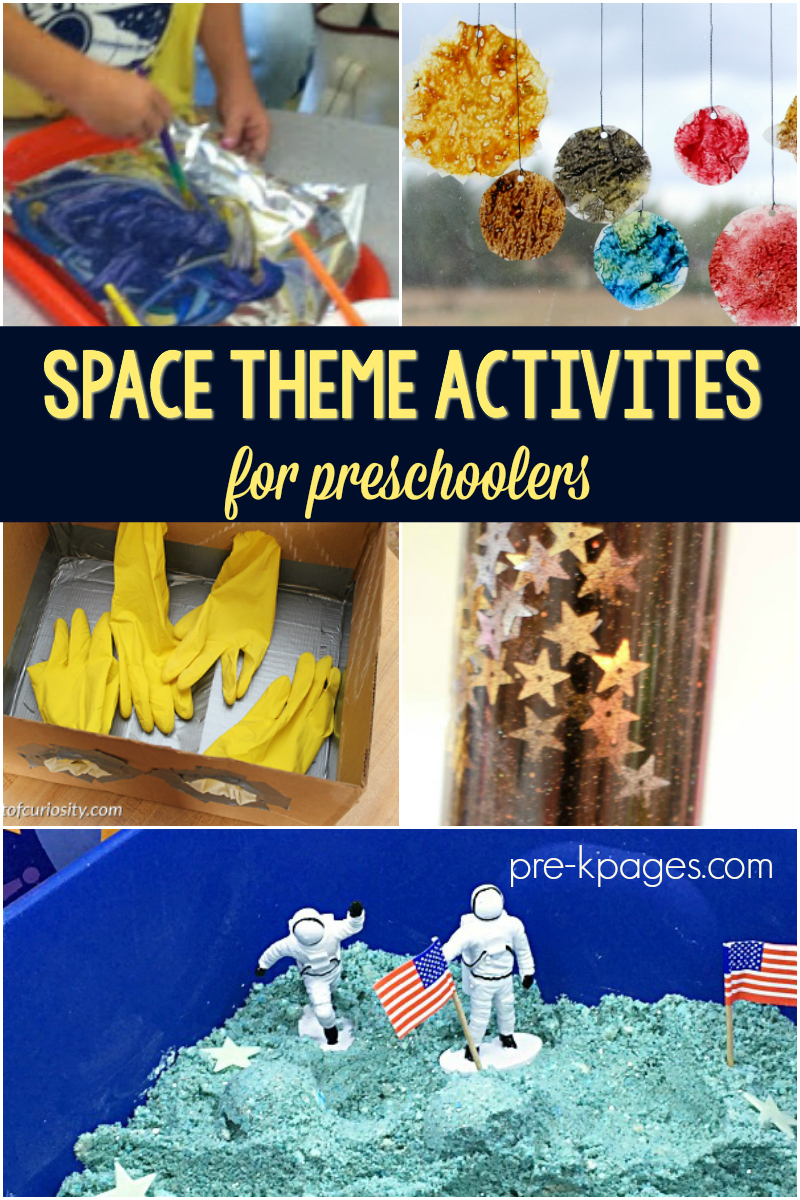 Space Theme Activities for Preschoolers - Pre-K Pages