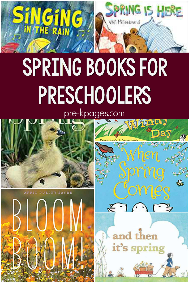 spring books for preschool