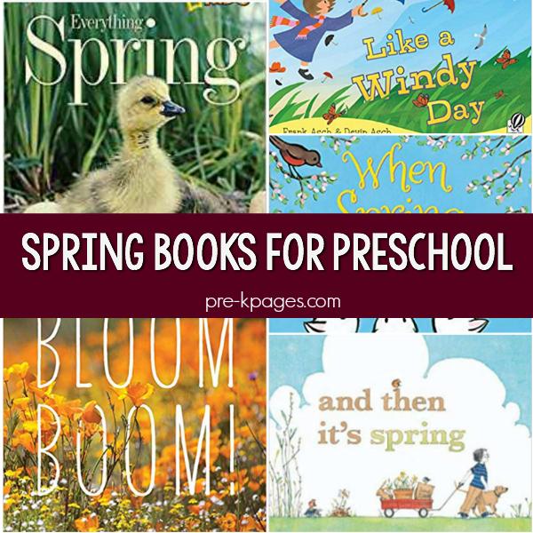 spring pre-k books