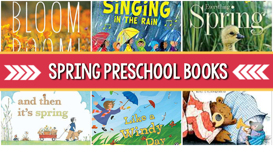 spring preschool books