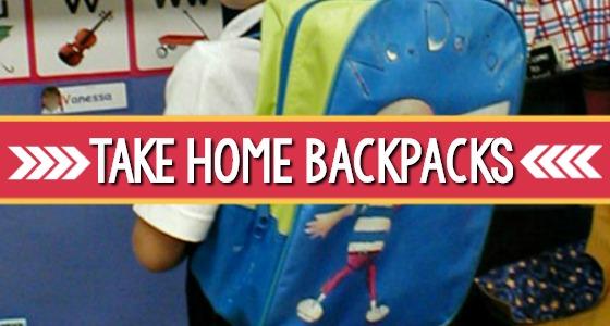 Take Home Backpacks