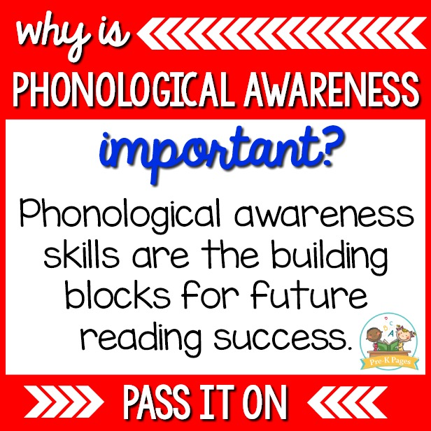 why are phonological awareness skills important