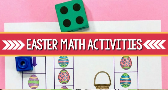 Easter Math Activities cover