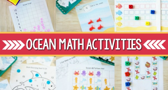 Preschool Ocean Theme Math Activities
