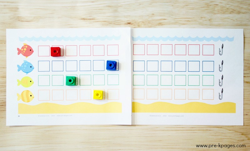Ocean Theme Counting Activity for Preschool