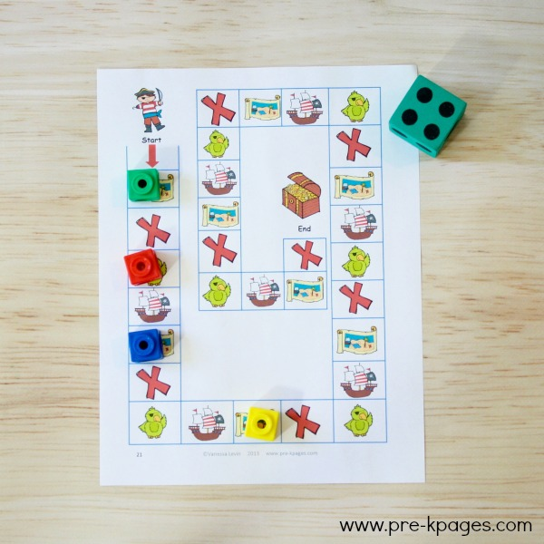 Ocean Theme Printable Board Game