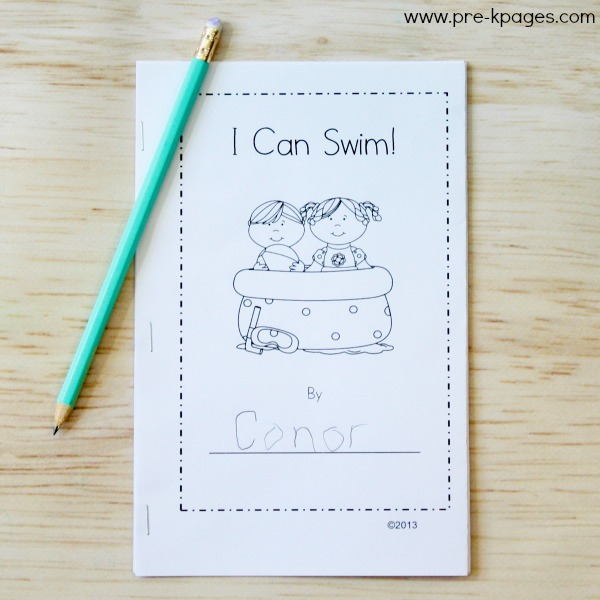 Ocean Theme Printable Emergent Reader