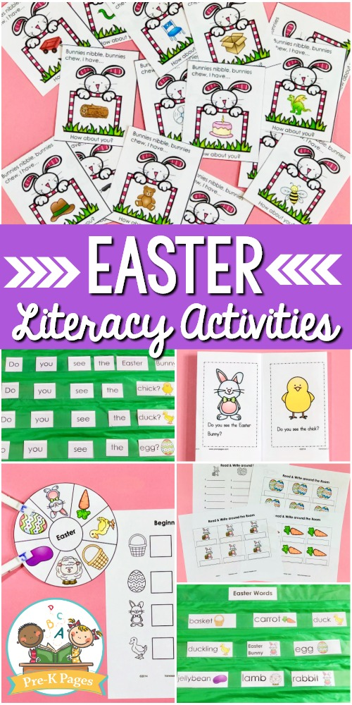 Preschool Easter Literacy Activities