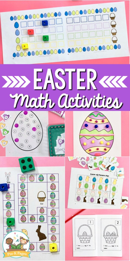 Preschool Easter Math Activities