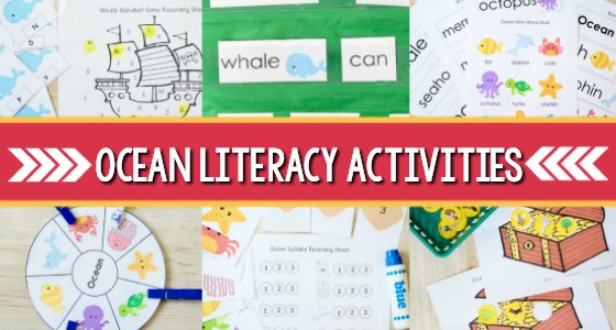 Preschool Ocean Literacy Activities