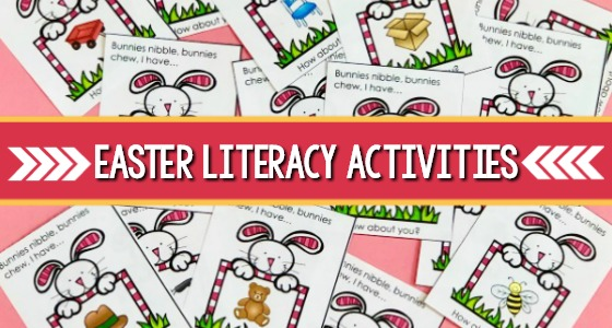 Small Group Easter Literacy Activities for Preschoolers