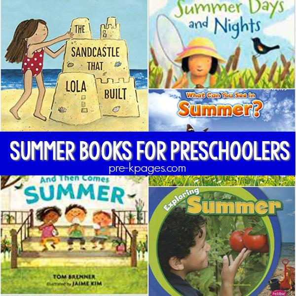books pre-k summer