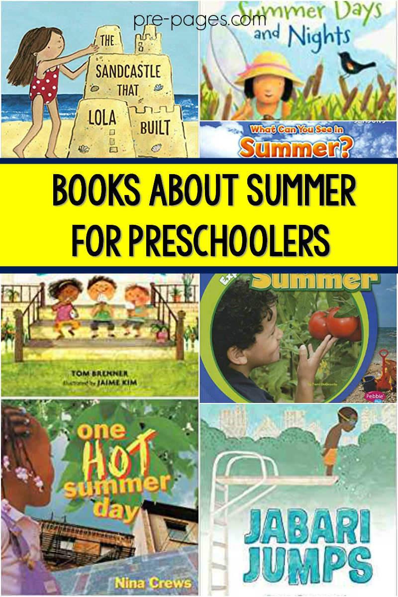 books summer for preschool