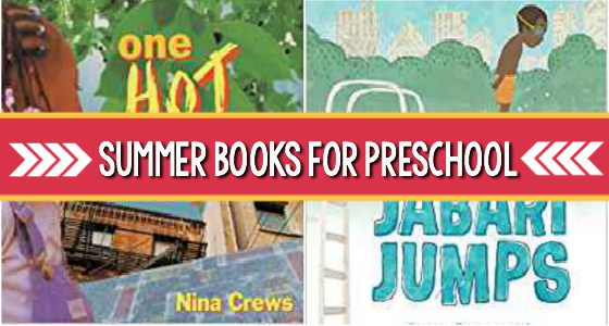 Books About Summer for Preschoolers