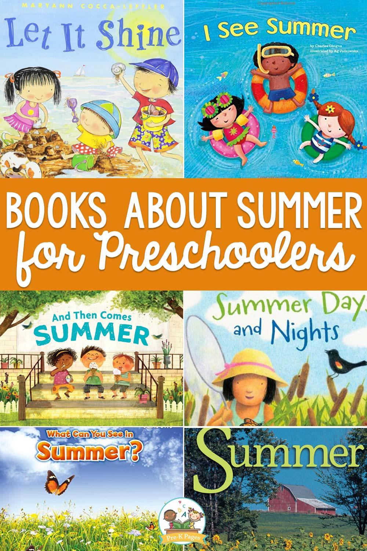 summer books for preschoolers