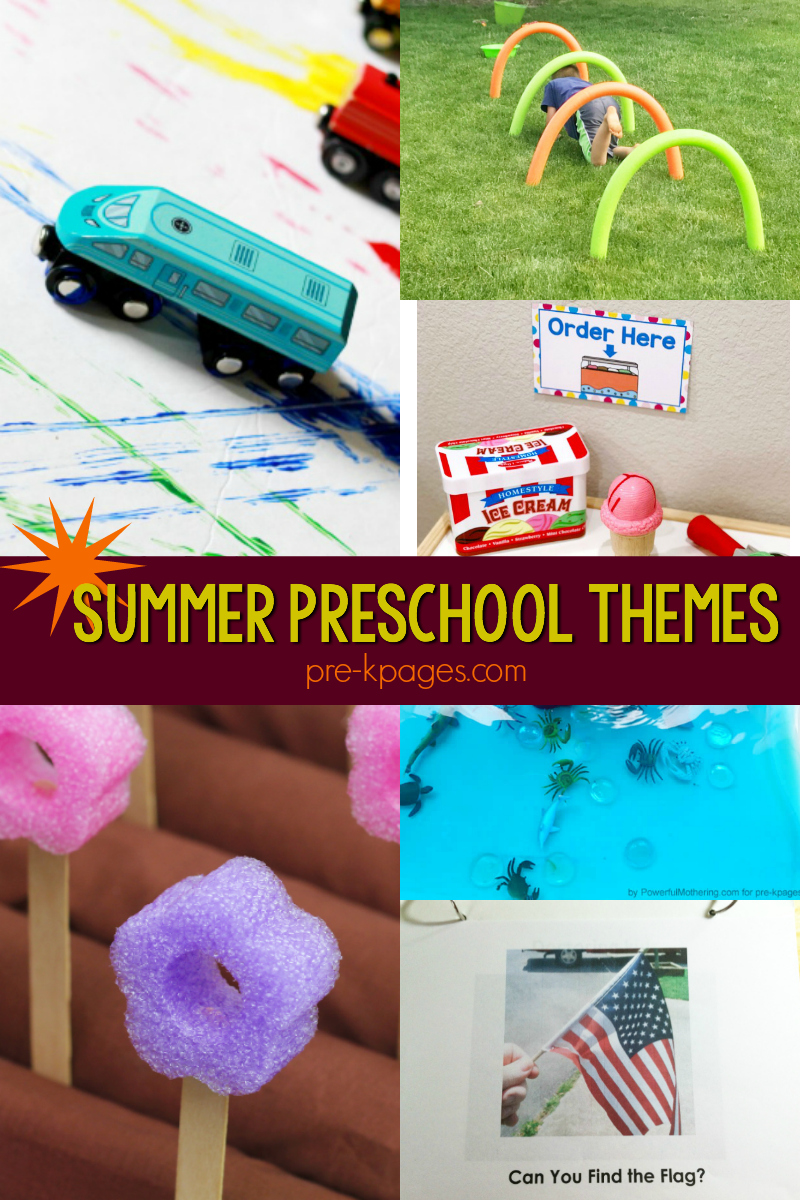 summer curriculum themes for preschool